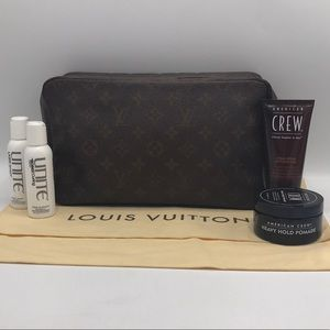 Authentic Louis Vuitton Trousse 28 Travel Bag